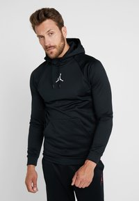 Jordan - 23ALPHA THERMA - Bluza z kapturem - black/white - 0