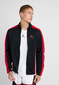 Jordan - JUMPMAN SUIT JACKET - Kurtka sportowa - black/red - 0