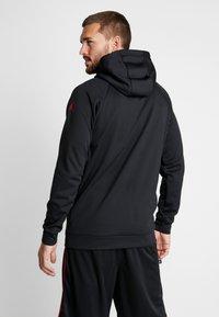 Jordan - 23 ALPHA - Bluza z kapturem - black/gym red - 2