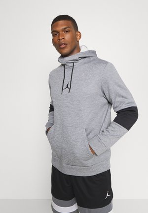 AIR THERMA - Hoodie - carbon heather/black/black