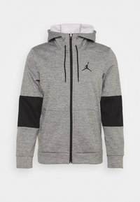 Jordan - AIR THERMA FULL ZIP - Fleecetakki - carbon heather/black/white - 0