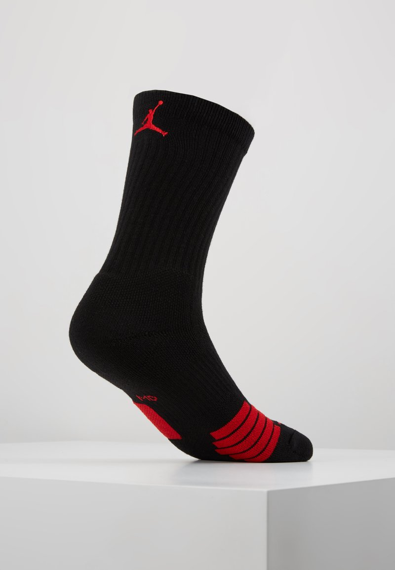Jordan - CREW NBA - Sportsstrømper - black/university red