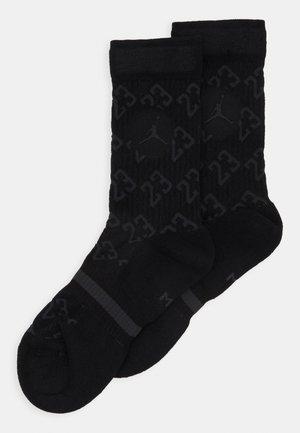 LEGACY CREW 2 PACK - Calcetines de deporte - black/anthracite