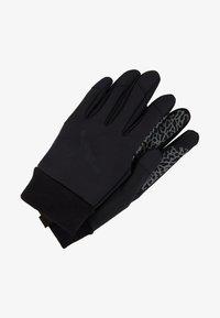 Jordan - SHIELD GLOVES - Fingerhandschuh - black/dark grey/gym red - 1