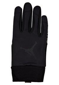 Jordan - SHIELD GLOVES - Fingerhandschuh - black/dark grey/gym red - 2