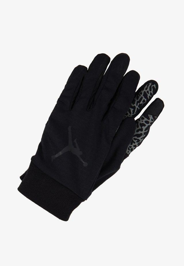 SPHERE GLOVES - Gloves - black/dark grey/gym red