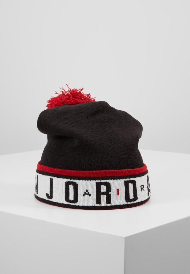 JORDAN BEANIE CFD POM TAPING - Mütze - black