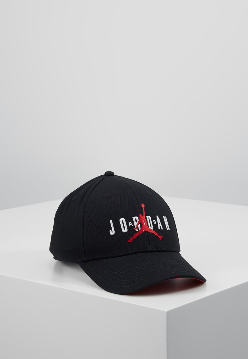 Jordan - AIR  - Pet - black/gym red/white