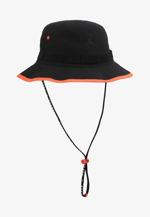 BUCKET JUMPMAN - Hat - black/infrared