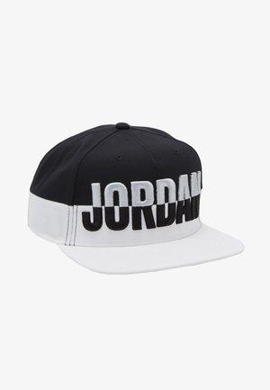 PRO POOLSIDE - Gorra - white/white/black/light smoke grey