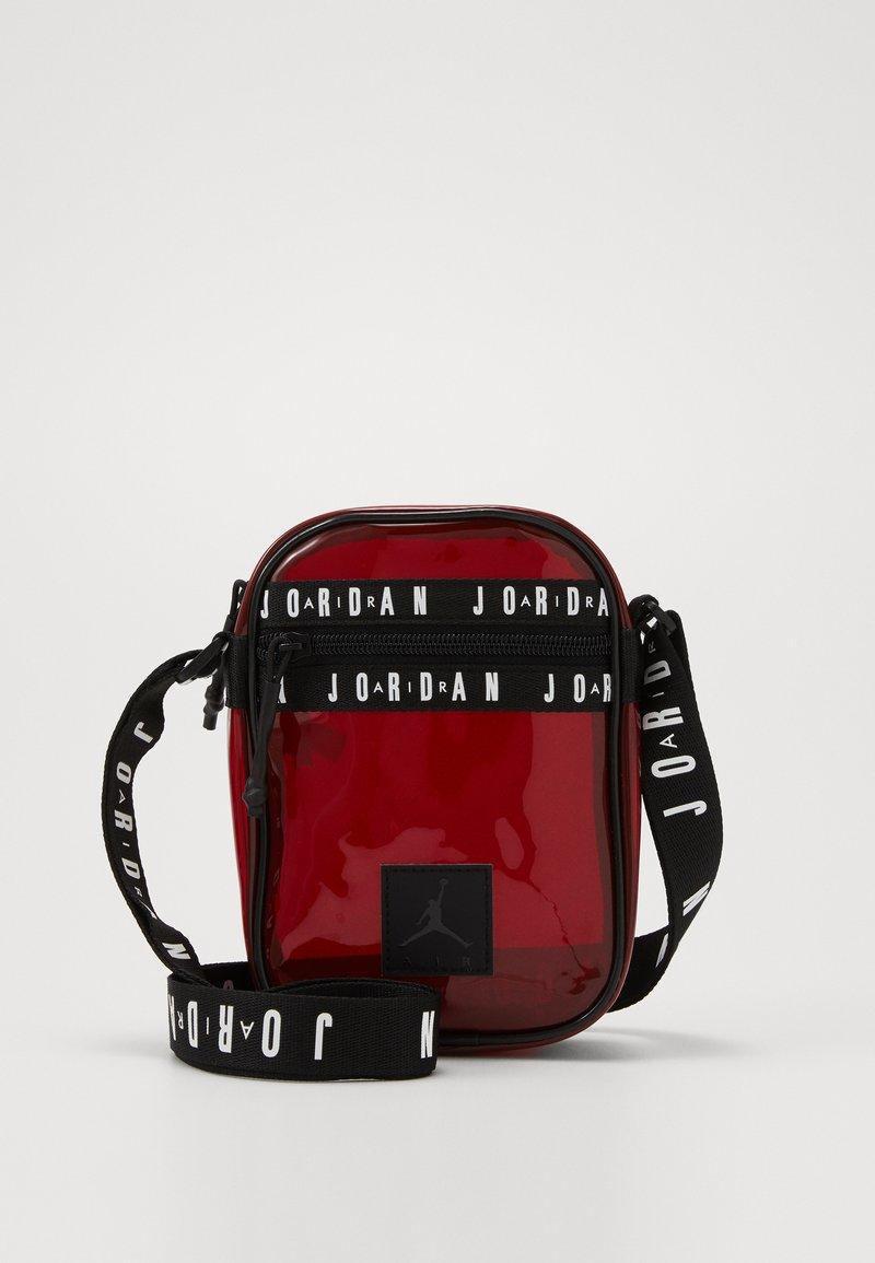 Jordan - JELLY FESTIVAL BAG - Olkalaukku - gym red