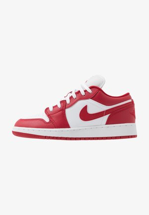 AIR 1 LOW - Chaussures de basket - gym red/white