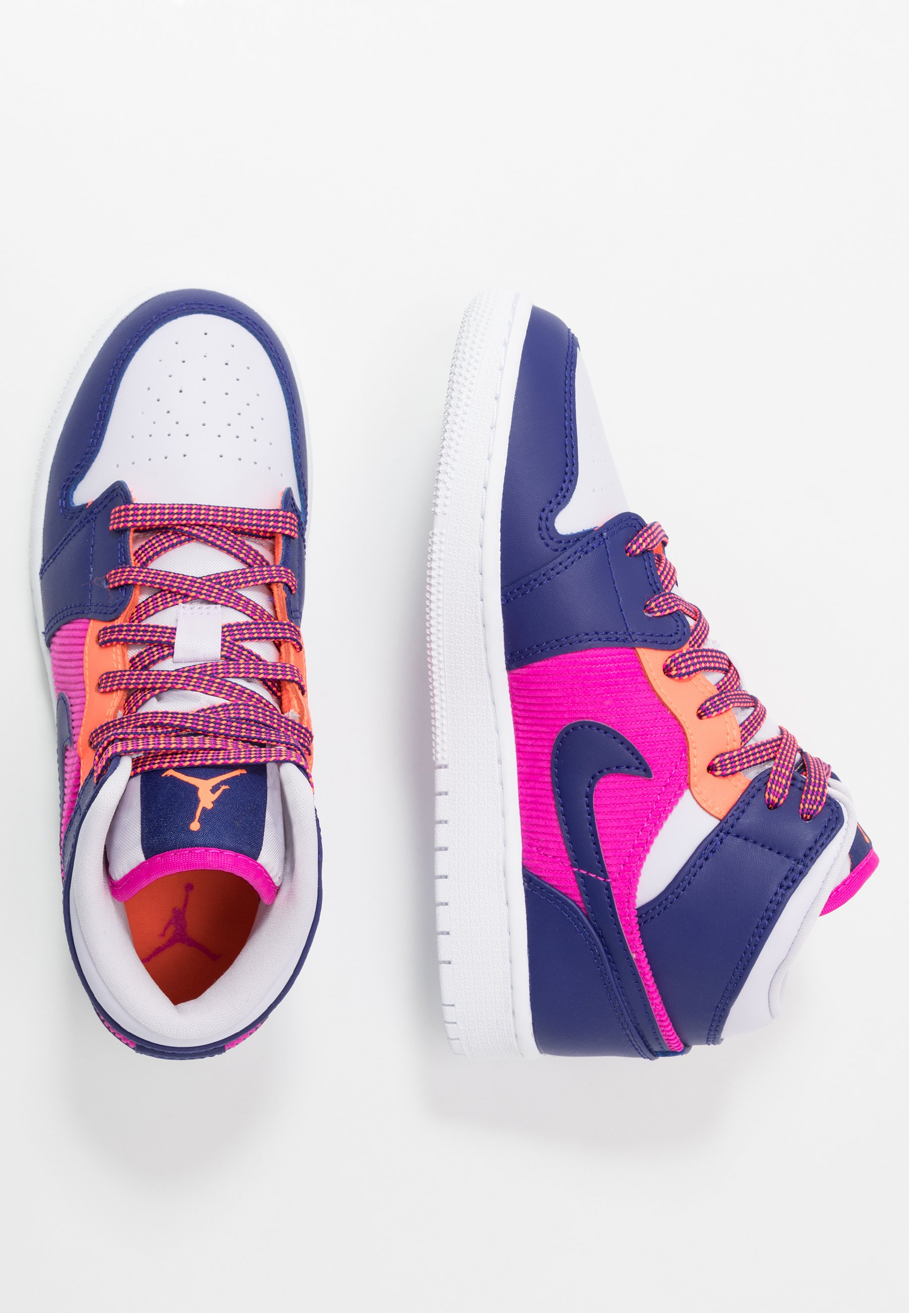 AIR 1 MID Chaussures de basket fire pinkregency purplebarely grape
