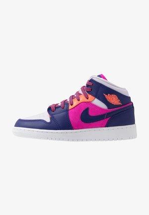 AIR 1 MID - Indoorskor - fire pink/regency purple/barely grape