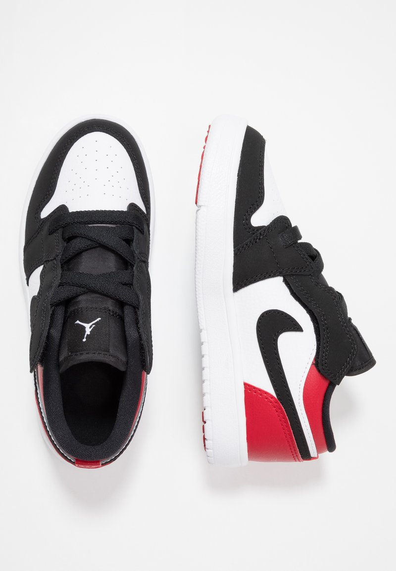 Jordan - LOW ALT - Basketballschuh - white/black/gym red