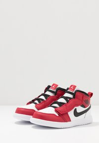 Jordan - 1 MID ALT - Basketbalové boty - white/gym red/black - 3
