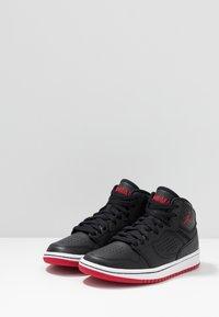 Jordan - ACCESS - Basketball shoes - black/gym red/white - 3