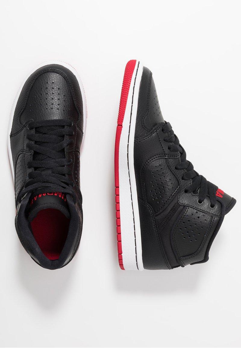 Jordan - ACCESS - Basketball shoes - black/gym red/white