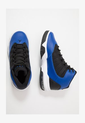 JORDAN MAX AURA SCHUH FÜR ÄLTERE KINDER - Basketbalové boty - game royal/black/white/game royal