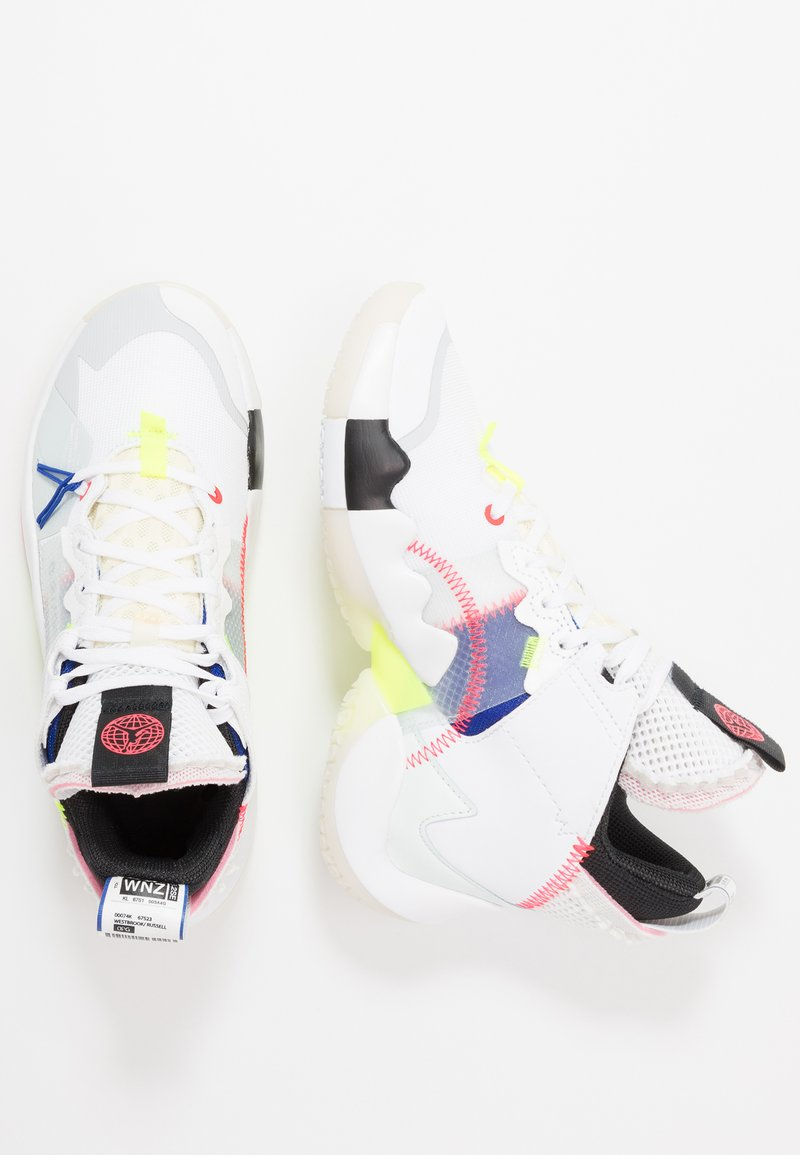 Jordan - WHY NOT 2 - Basketbalové boty - white/ghost aqua/hyper royal/volt/sail