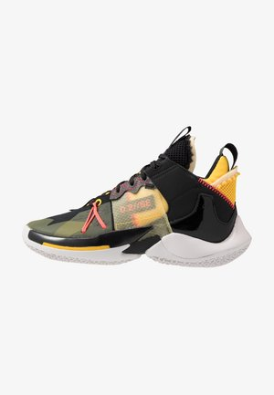 WHY NOT 2 SE - Basketbalschoenen - black/flash crimson/amarillo/vast grey