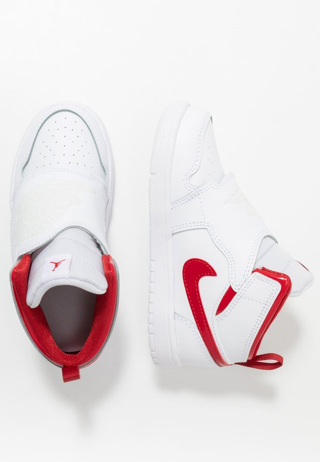SKY 1 - Basketball shoes - white/summit white/varsity red