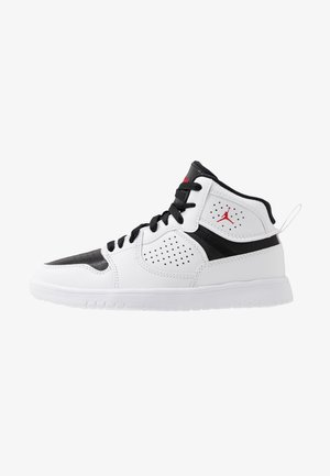 ACCESS - Chaussures de basket - white/gym red/black