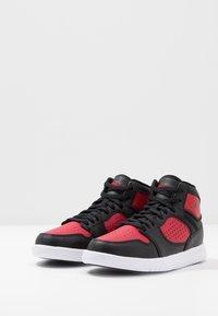 Jordan - ACCESS - Basketbalové boty - black/gym red/white - 3