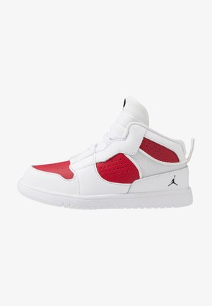 ACCESS - Zapatillas de baloncesto - white/black/gym red