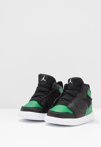 Jordan - ACCESS - Basketbalové boty - black/aloe verde/white - 3