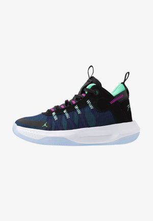 JUMPMAN 2020 - Basketball shoes - black/electric green/hyper violet/bright crimson