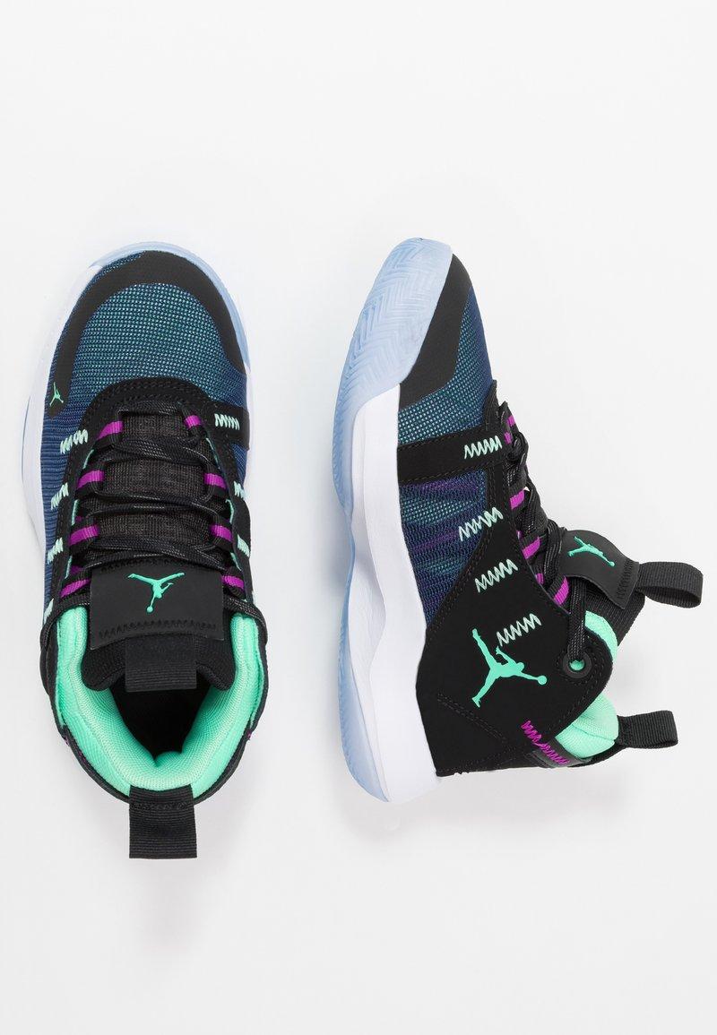 Jordan - JUMPMAN 2020 - Basketbalové boty - black/electric green/hyper violet/bright crimson