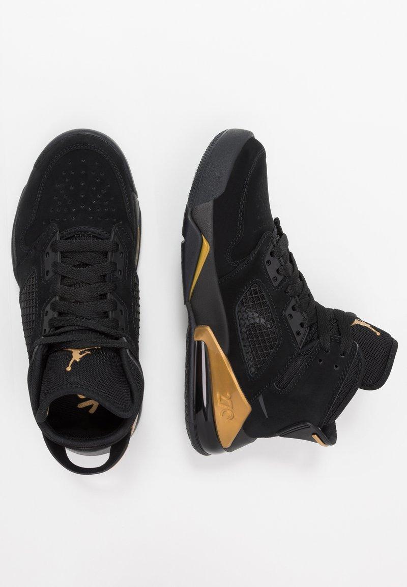 Jordan - MARS - Basketbalové boty - black/anthracite/metallic gold