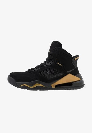 MARS - Basketbalové boty - black/anthracite/metallic gold