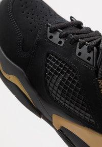 Jordan - MARS - Basketbalové boty - black/anthracite/metallic gold - 2