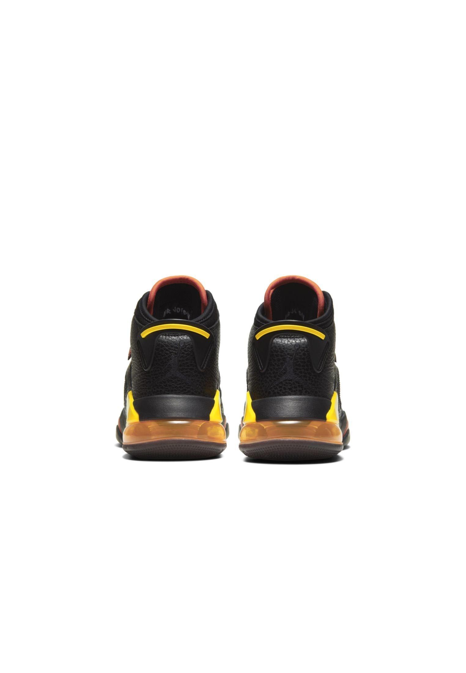 Jordan MARS - Basketsko - black/team orange/yellow
