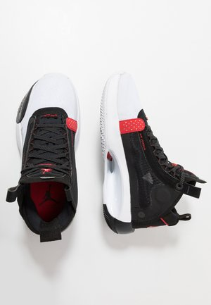 AIR XXXIV BG - Basketbalschoenen - white/red orbit/black