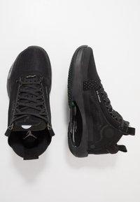 Jordan - AIR XXXIV BG - Basketbalové boty - black/dark smoke grey/electric green - 0