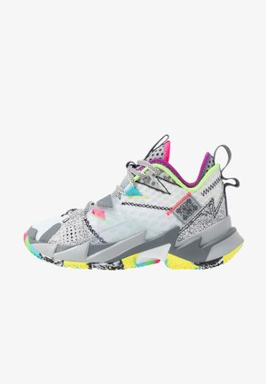 WHY NOT ZER0.3 - Basketball shoes - white/cool grey/wolf grey
