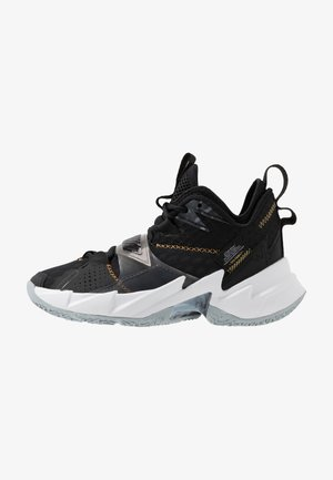 WHY NOT ZER0.3 - Basketbalové boty - black/metallic gold/white