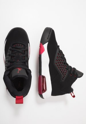 MAXIN 200 - Basketbalové boty - black/gym red/white