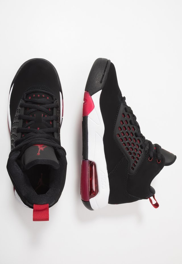 MAXIN 200 - Basketbalschoenen - black/gym red/white