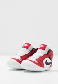 Jordan - JORDAN 1 - Basketball shoes - white/black/varsity red - 3