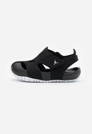 FLARE UNISEX - Basketball shoes - black/white