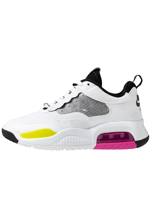 Chaussures de basket - white/active fuchsia/cyber/black