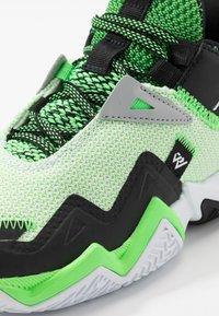 Jordan - WESTBROOK ONE TAKE - Obuwie do koszykówki - white/black/rage green - 2