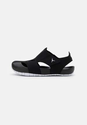 FLARE UNISEX - Pool slides - black/white