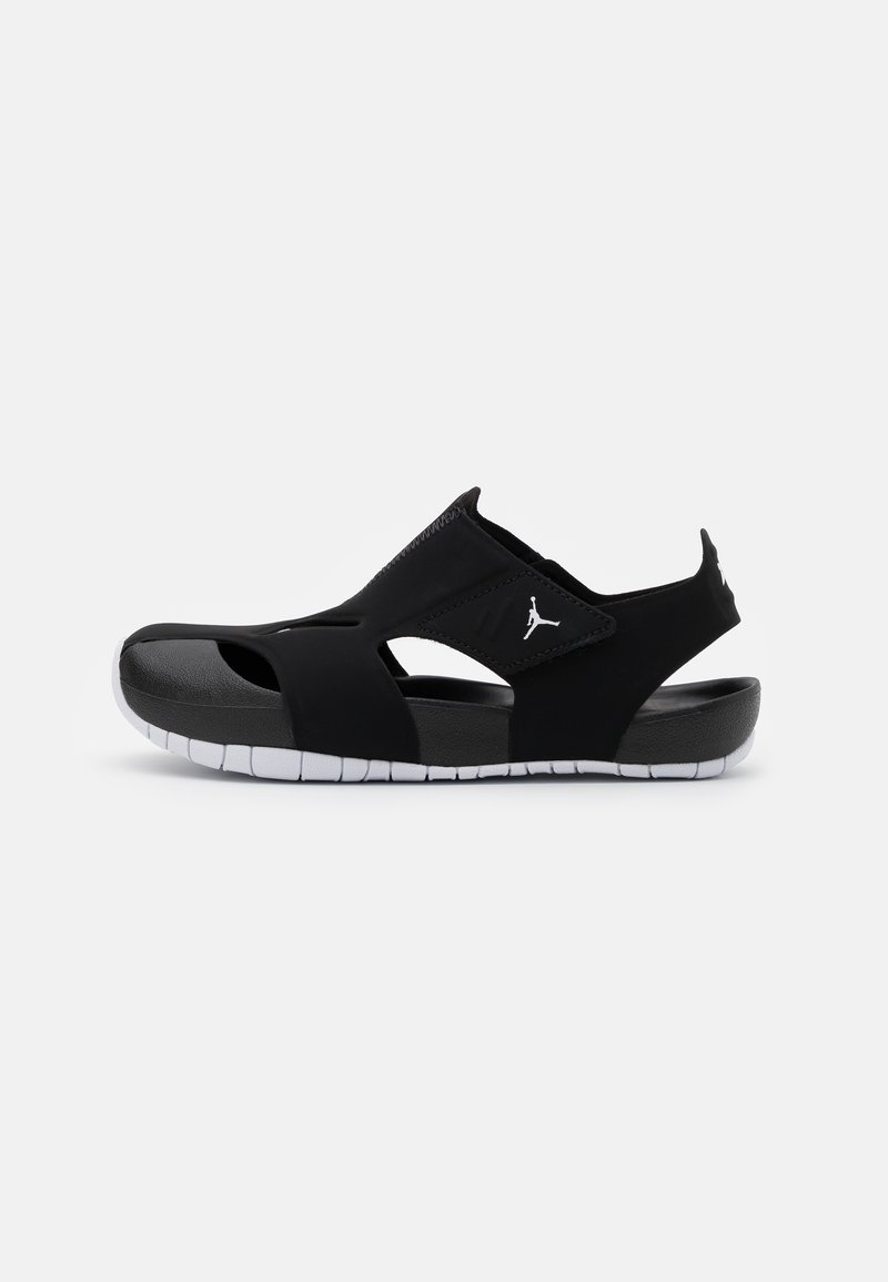 Jordan - FLARE UNISEX - Pool slides - black/white