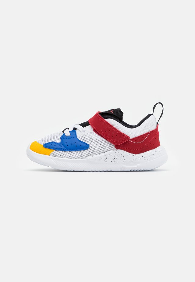 CADENCE  - Basketbalschoenen - white/game royal/black/gym red