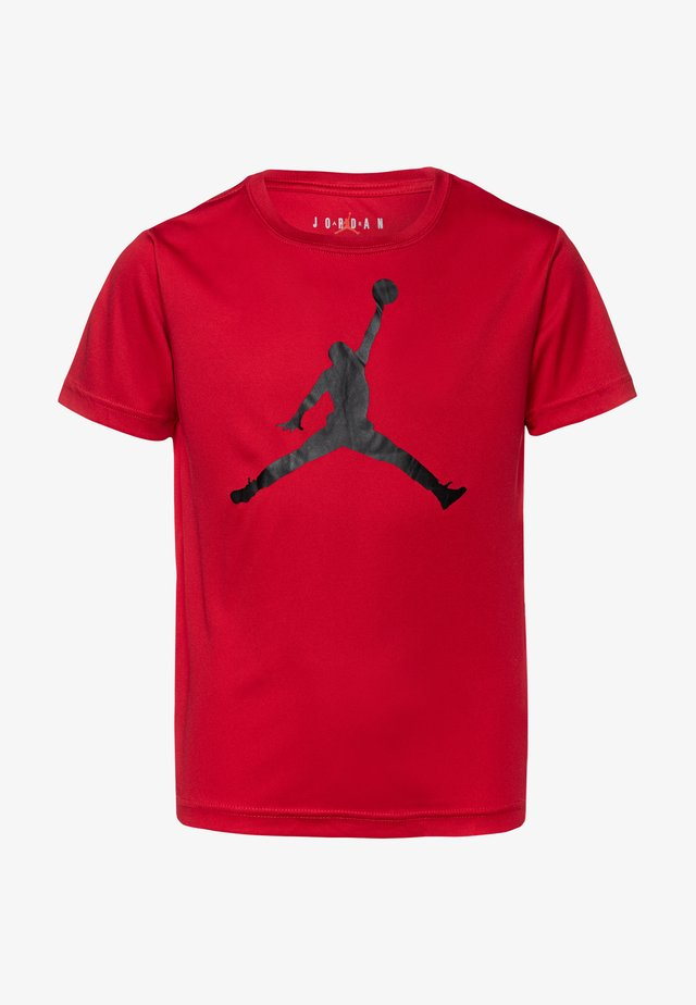 JUMPMAN LOGO - Triko s potiskem - gym red